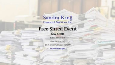Free Shred Event in Euless TX
